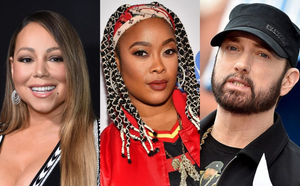 "AND I OOP!: Da Brat Shares Embarrassing Sexual Details Of Eminem & Mariah Carey's Relationship – ""He Prematurely Ejaculated Because He Was So Excited"""