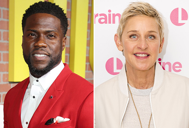 "LEAVE ELLEN ALONE?: Kevin Hart Stands By Ellen DeGeneres Amid Misconduct Scandal – ""This Hate Sh*t Has to Stop!"""