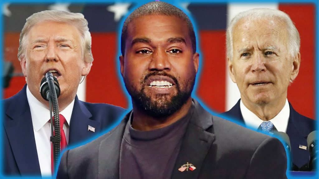 KIM, PLEASE COME GET YOUR HUSBAND: Kanye West Responds To Accusation That He's Helping Trump Beat Biden