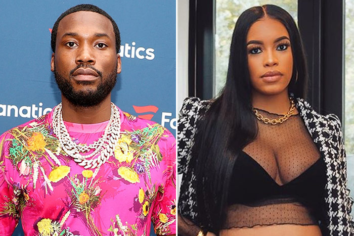 """THAT'S JUST MY BABY DADDY: Milano Claps Back After Someone Says She's """"Just Meek Mill's Baby Mama"""""""
