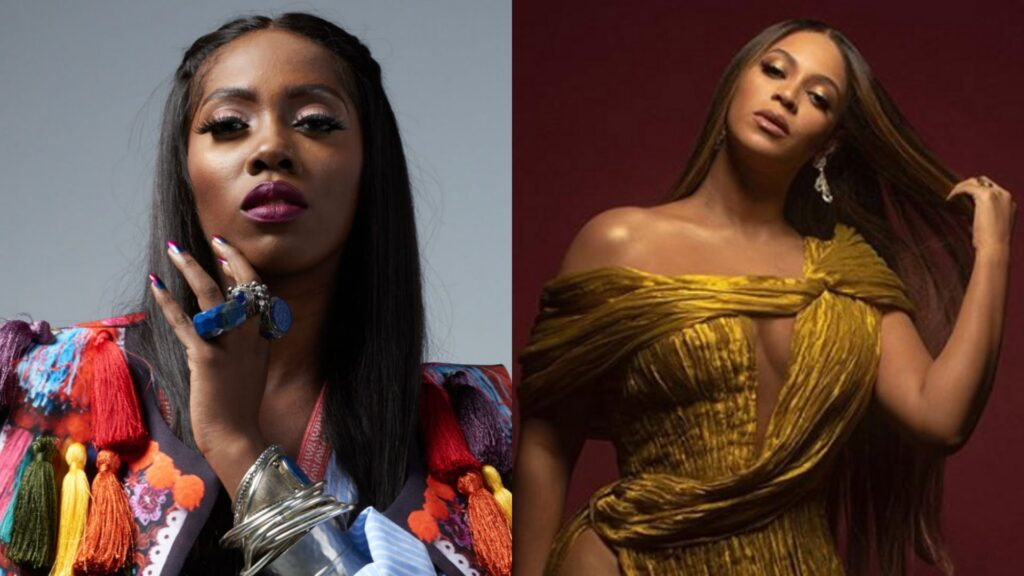 "GET UP, STAND UP?: Tiwa Savage Calls Out Beyoncé To Speak Up About #EndSARs Movement In Nigeria – ""You Cannot Be Quiet"""