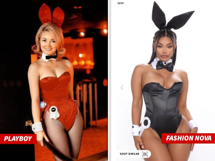 RUN THEM THEIR COINS OR NAH?: Playboy Sues Fashion Nova For Allegedly Copying Bunny Costume