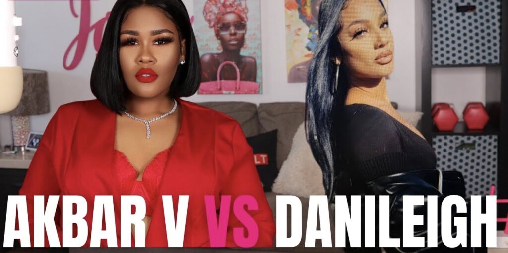 IN CASE YOU MISSED IT: For Some Reason Akbar V & DaniLeigh Decided to Strap Up Their Petty Boots & Have a Twitter War About Being Black, Colorism,…& Record Sales?