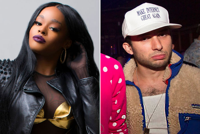 """THAT MAN PROBABLY RAN FOR HIS LIFE: Azealia Banks Claims She """"Dumped"""" Ryder Ripps Just a Week After Announcing They Were Engaged"""