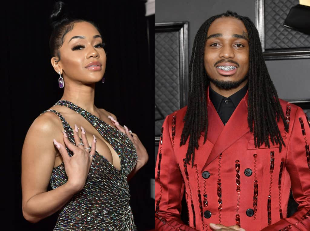 WELL THAT WENT WELL: Quavo & Saweetie Avoid Criminal Charges From Elevator Fight Video