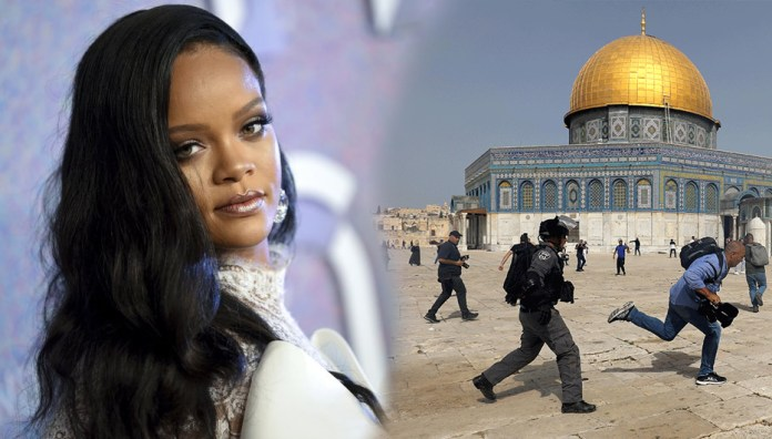 NOW WE'RE NEVER GETTING THE ALBUM: People Are Mad At Rihanna For Her Message Asking for Peace Rather than the Violence That's Taking Place in Israel & Palestine