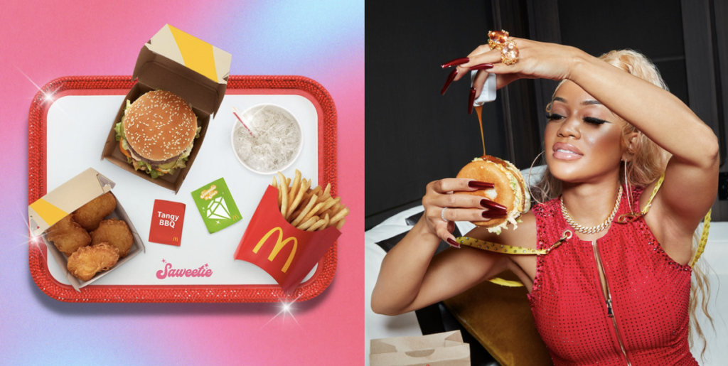 Y'ALL HUNGRY?: Saweetie Collabs with McDonald's to Bring the 'Saweetie Meal' To Life
