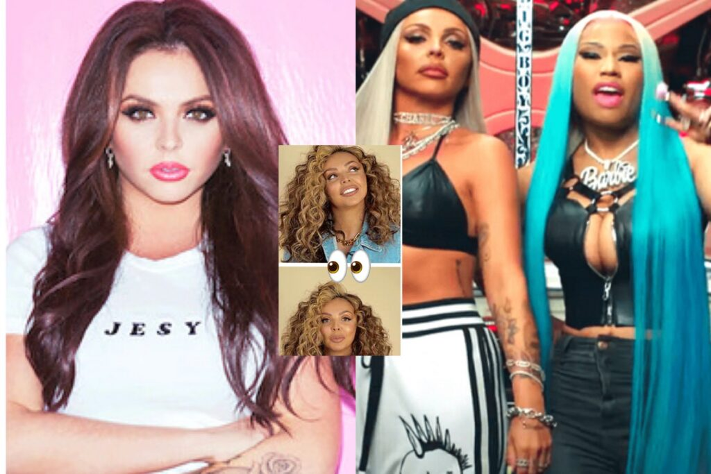 """SOMEBODY COME LOOK AT THIS: Former Little Mix Singer Jesy Nelson is Being Accused of """"Blackfishing"""" & Cultural Appropriation Following The Release of Her First Solo Single """"Boyz"""" with Nicki Minaj"""